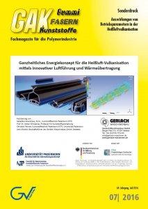 Gerlach-Heissluftvulkanisation